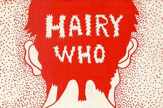 Back cover for 'The Portable Hairy Who!' (1966), Karl Wirsum.