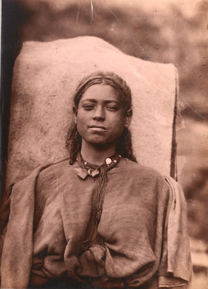 Portrait of a young woman, Ethiopia (1885–88), Jules Borelli.