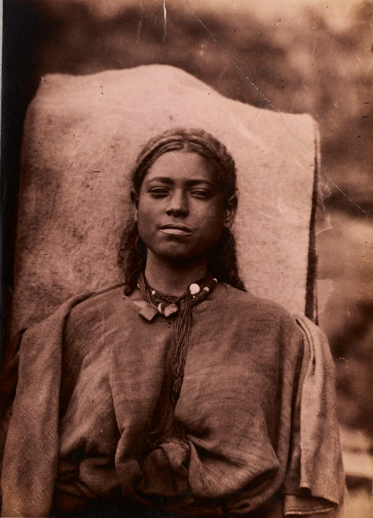 Portrait of a young woman, Ethiopia (1885–88), Jules Borelli.
