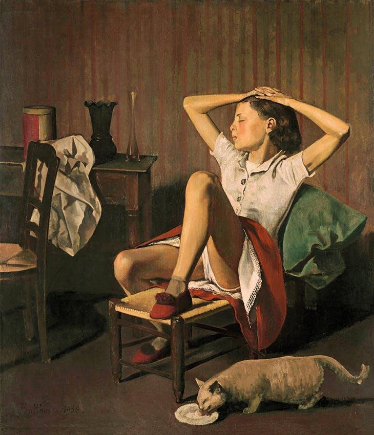 Thérèse Dreaming (1938), Balthus. Metropolitan Museum of Art, New York.