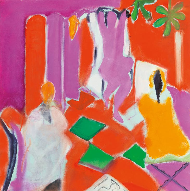 Life Class Painting at Botallack (2010), Rose Hilton.