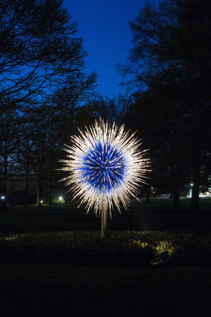 Sapphire Star (2010), Dale Chihuly.