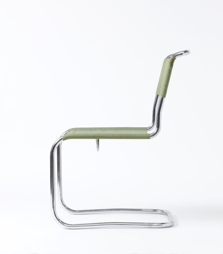 Cantilever chair B 33 (1927), Marcel Breuer and Mart Stam.