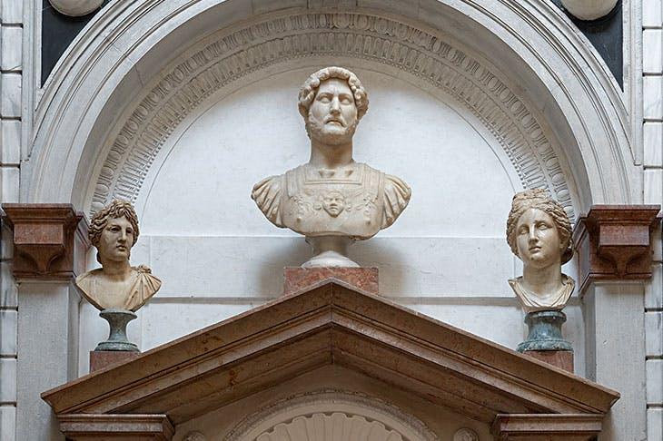 Installation view of 'DOMUS GRIMANI 1594–2019' in the Sala della Tribuna in Palazzo Grimani, Venice, 2019. Photo: Matteo De Fina. Courtesy Ministry of Cultural Heritage and Activities – Polo Museale del Veneto