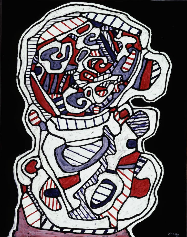 Cup of Tea VII (1967), Jean Dubuffet.
