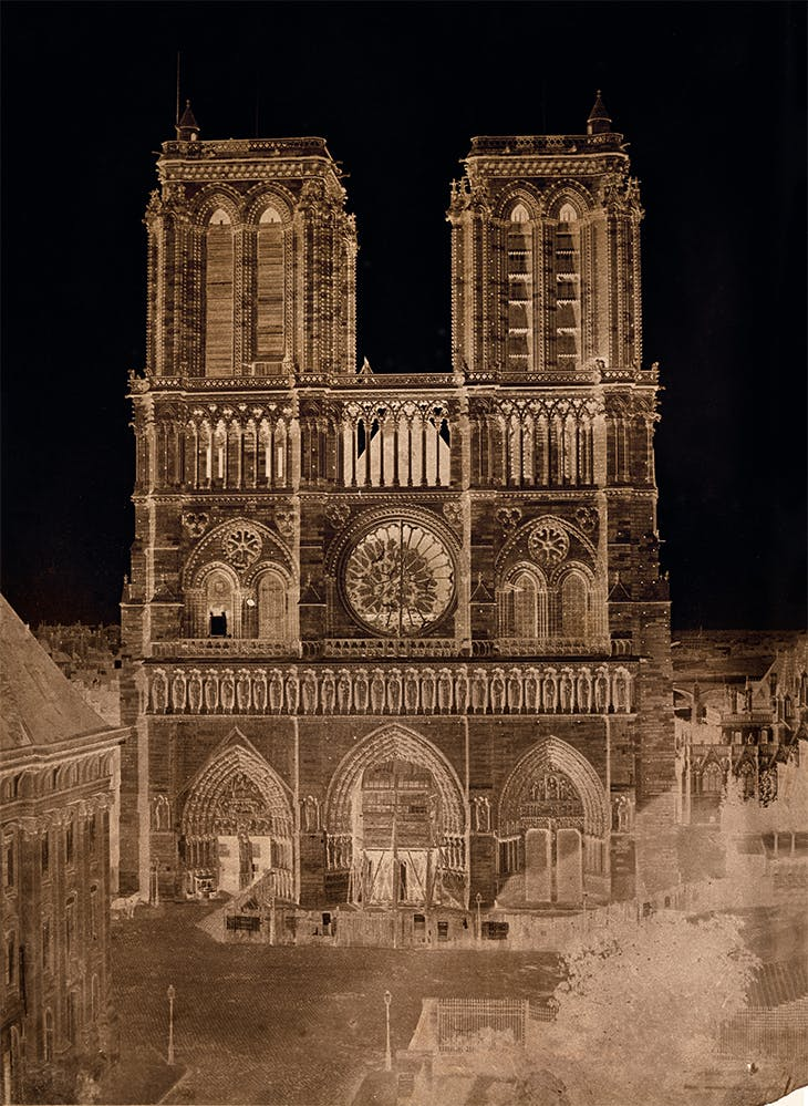 Notre-Dame, Paris (c. 1853), Charles Nègre. J. Paul Getty Museum, Los Angeles