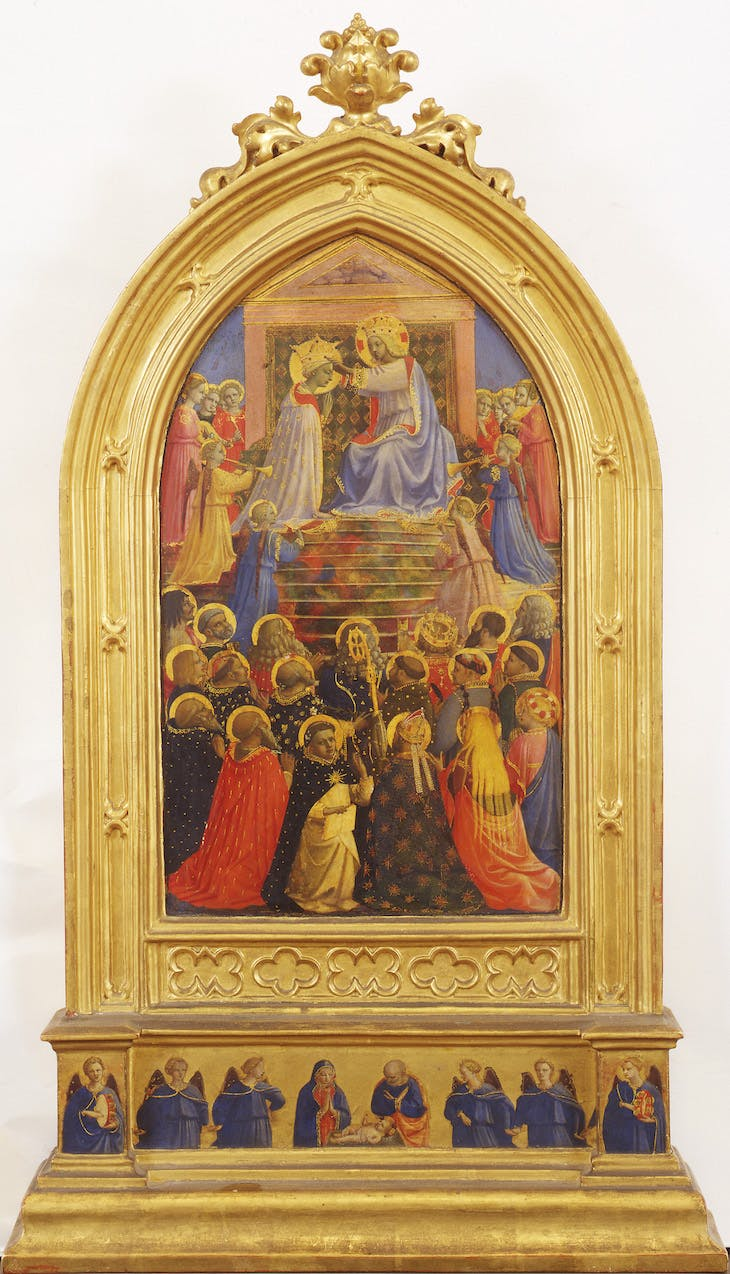 Coronation of the Virgin (c. 1429), Fra Angelico.