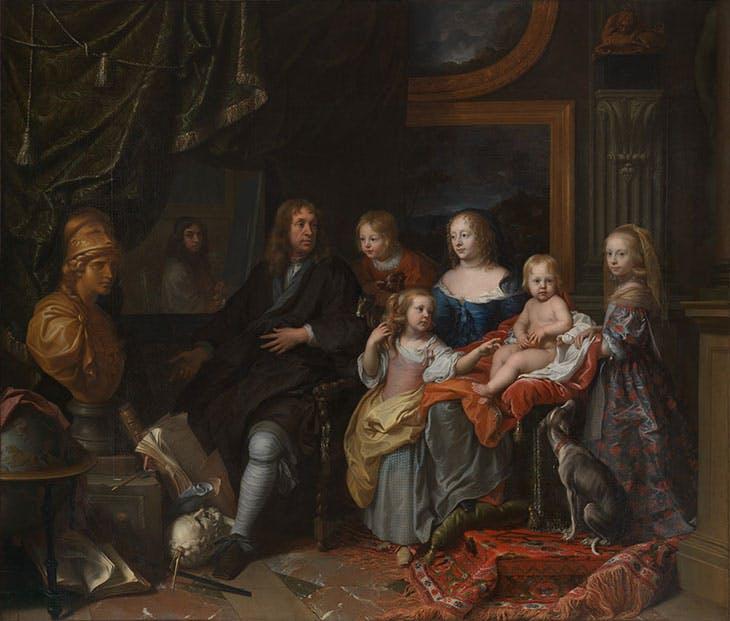 Everhard Jabach (1618–1695) and His Family (c. 1660), Charles Le Brun. Metropolitan Museum of Art, New York