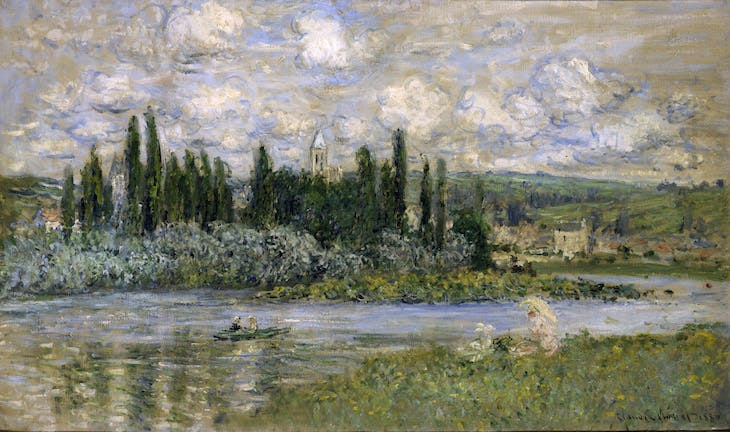 View of Vétheuil, Monet