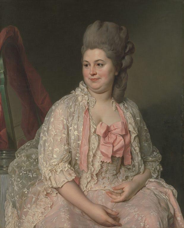 Madame de Saint-Maurice, (1776), Joseph Stifford Duplessis, Metropolitan Museum of Art, New York