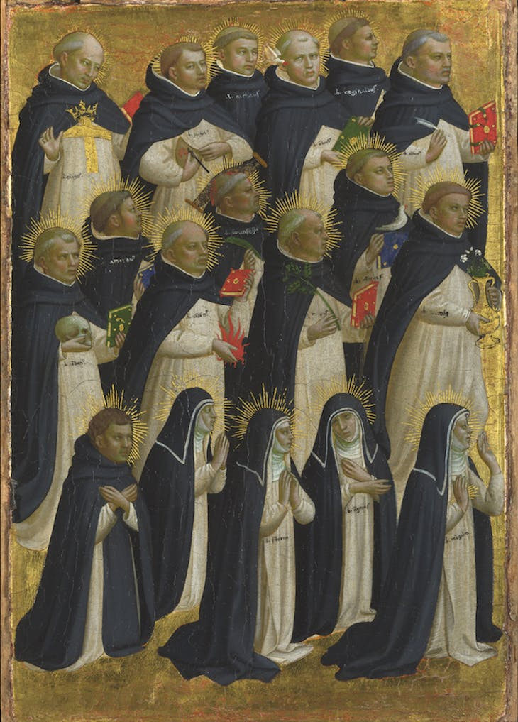 Eighteen Dominican Monks (c. 1421–24), Fra Angelico