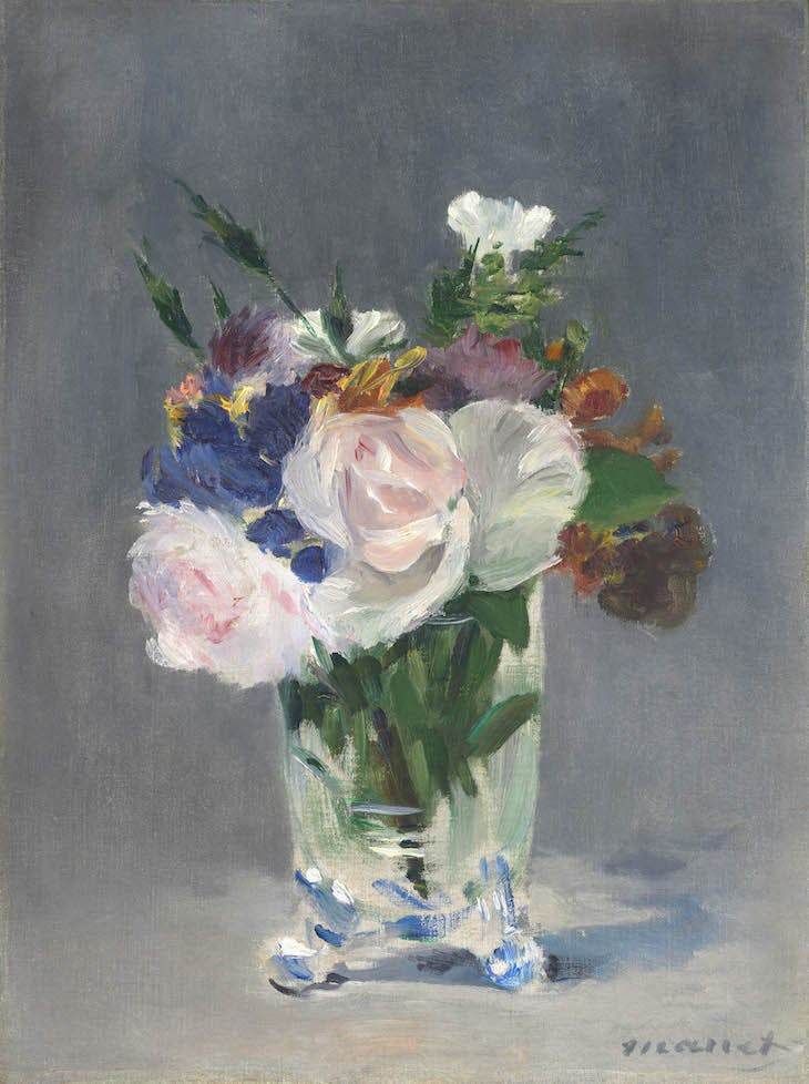 Flowers in a Crystal Vase (c. 1882), Édouard Manet.