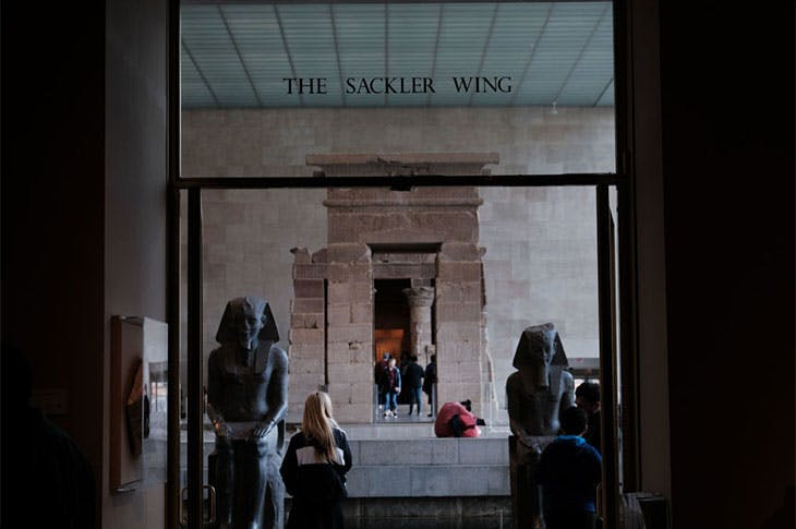 The Sackler Wing at the Metropolitan Museum of Art, New York.