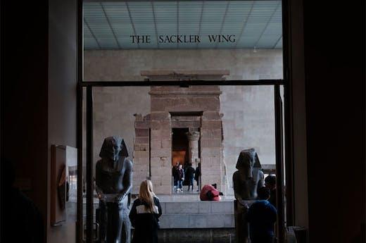 The Sackler Wing at the Metropolitan Museum of Art, New York.