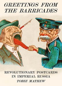 Cover of Greetings from the Barricades by Tobie Mathew