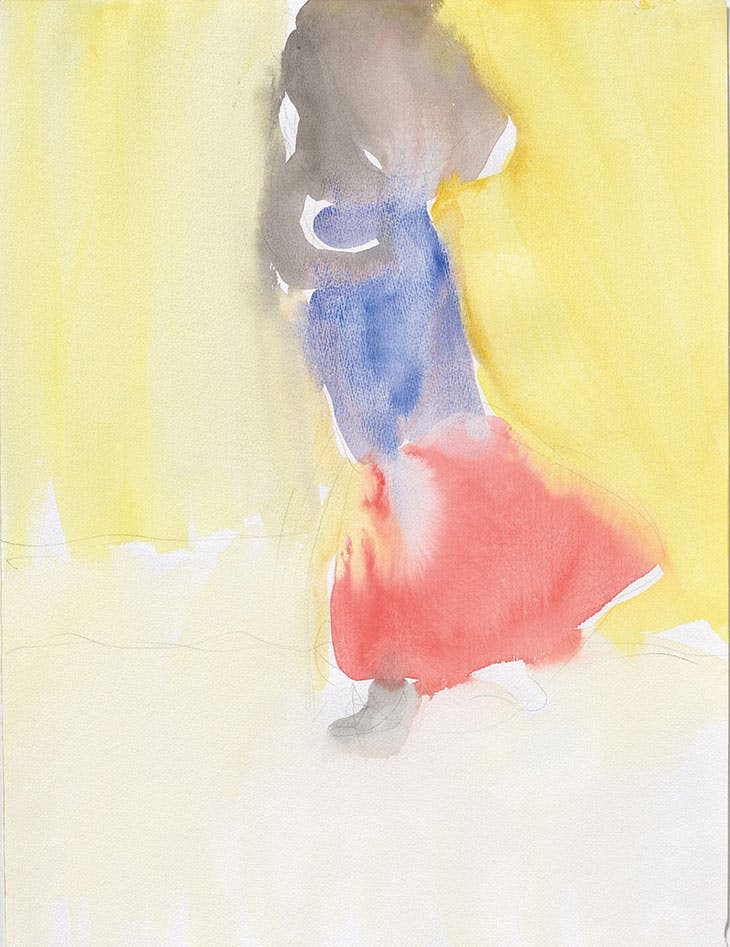 Girl in Yellow (1995), Leiko Ikemura.