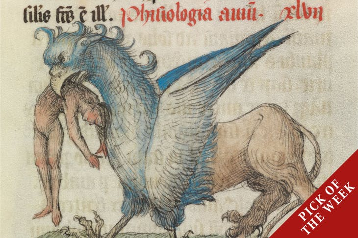 Detail from a page of Liber Floridus (1460), France.