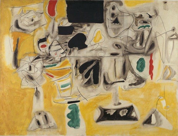 Landscape-Table (1945), Arshile Gorky.
