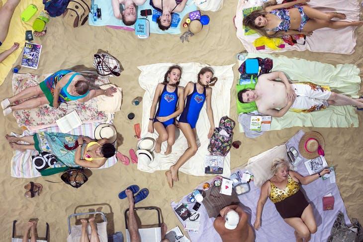 'Sun and Sea' by Rugilė Barzdžiukaitė, Vaiva Grainytė, and Lina Lapelytė, Photo: Neon Realism