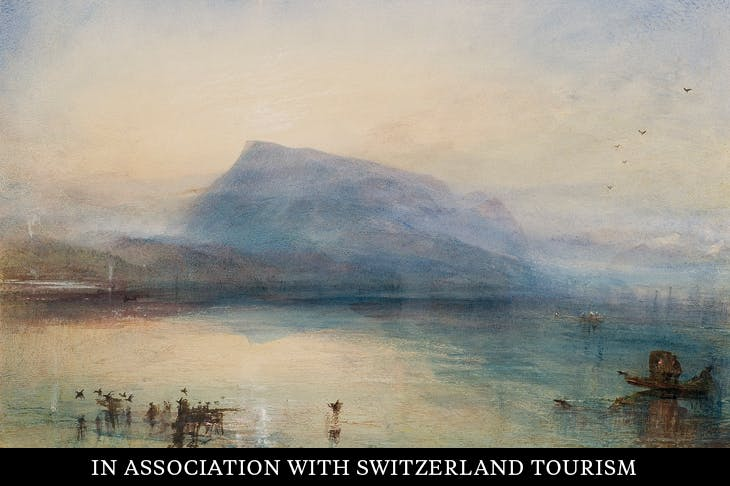 The Blue Rigi (c. 1842), J.M.W. Turner.