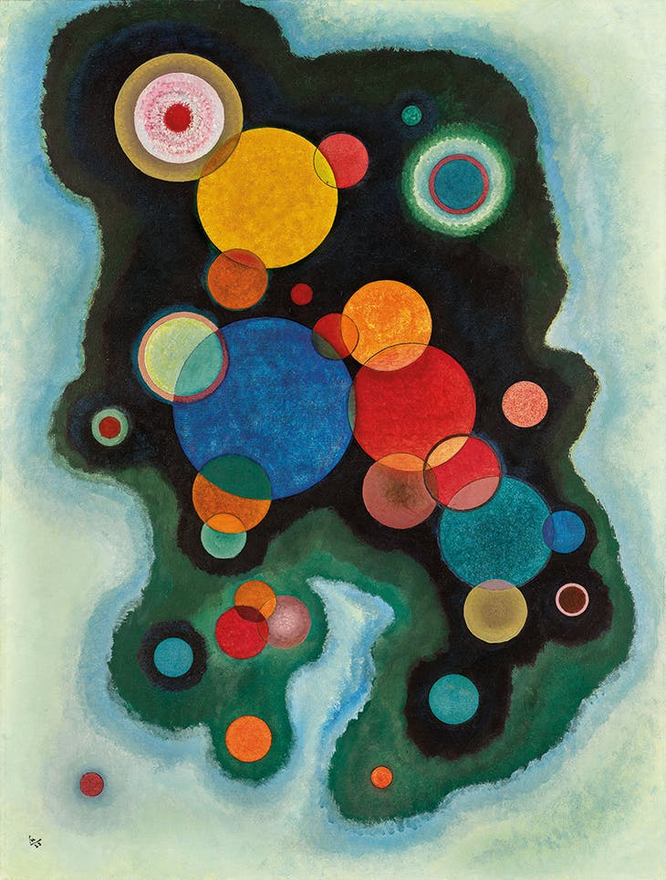 Vertiefte Regung (Deepened Impulse) (1928), Wassily Kandinsky. Sotheby's London, £6.1m