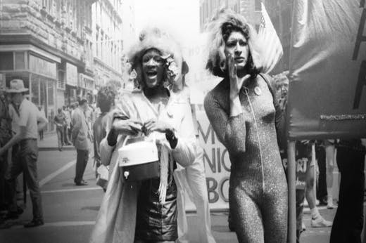 Marsha P. Johnson and Sylvia Rivera