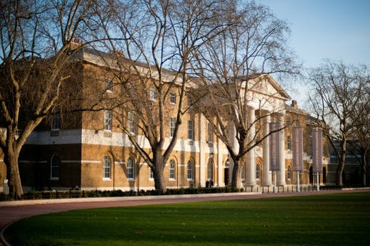 The Saatchi Gallery in London.