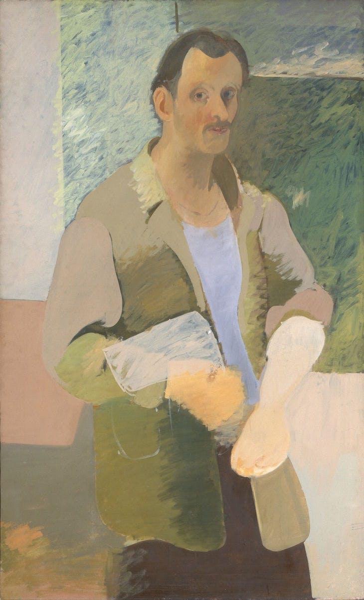 Self-portrait (c. 1937), Arshile Gorky.