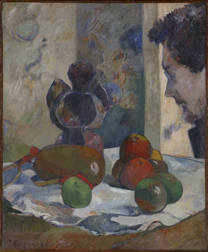 Still Life with Profile of Laval (1886), Paul Gauguin.