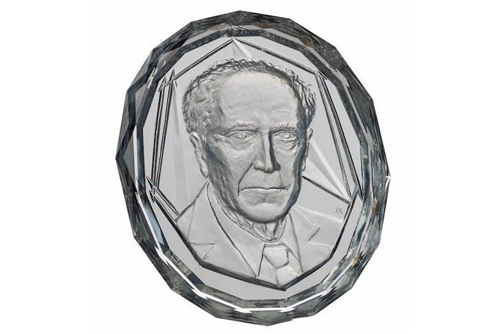 Portrait of an academician (2005), D.S. Likhachev.