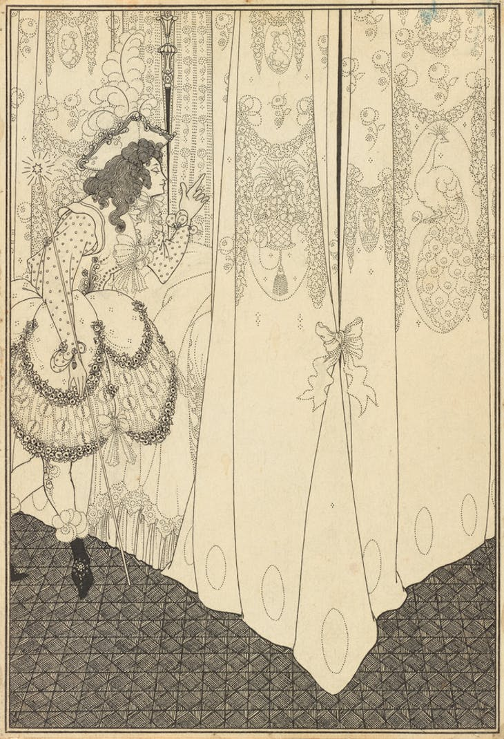 The Dream (1896), Aubrey Beardsley.