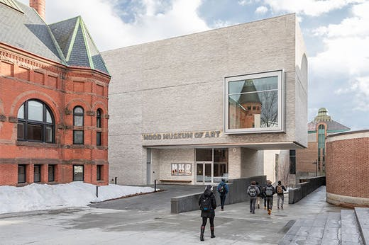 The Hood Museum of Art in Dartmouth.