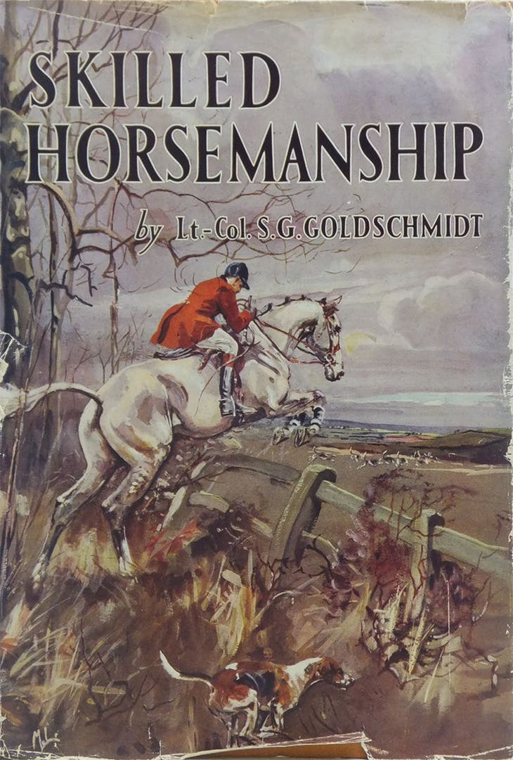 Lt-Col Sidney G. Goldschmidt, who wrote for Apollo in 1945, had as keen an eye for equestrian matters as he did for antiques