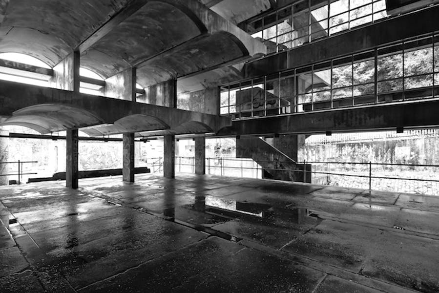 St Peter's Seminary in 2017.