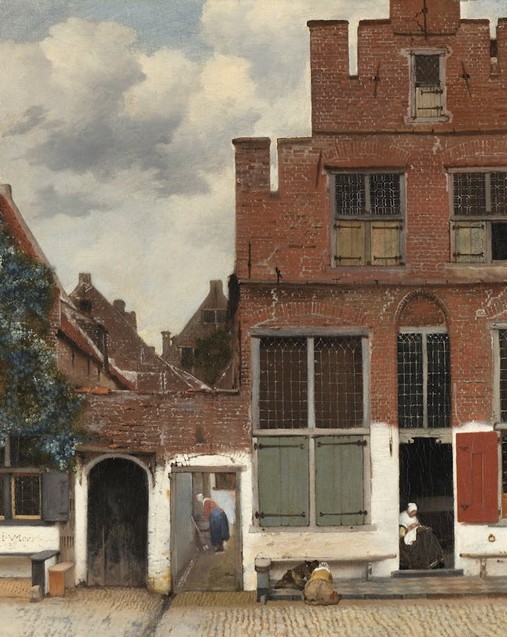 View of Houses in Delft, Known as The Little Street (c. 1658), Johannes Vermeer.