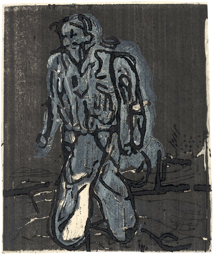 Der neue Typ (The New Type; 1966), Georg Baselitz.
