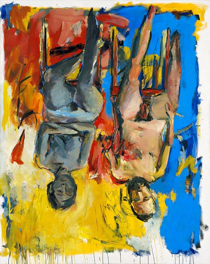 Schlafzimmer (Bedroom; 1975), Georg Baselitz. Georg Baselitz Treuhandstiftung