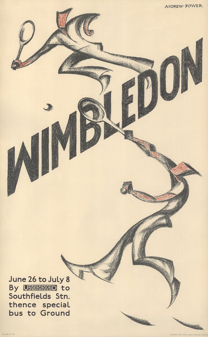 Wimbledon (1933), Andrew Power.