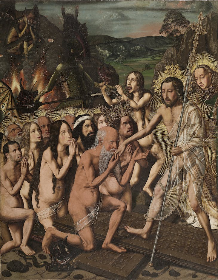 Descent of Christ in Limbo (c. 1470–80), Bartolomé Bermejo.