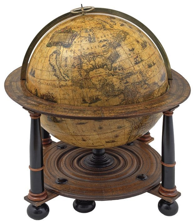 Globe (one of a pair) (1648), Willem Blaeu. Daniel Crouch (£1.2m)