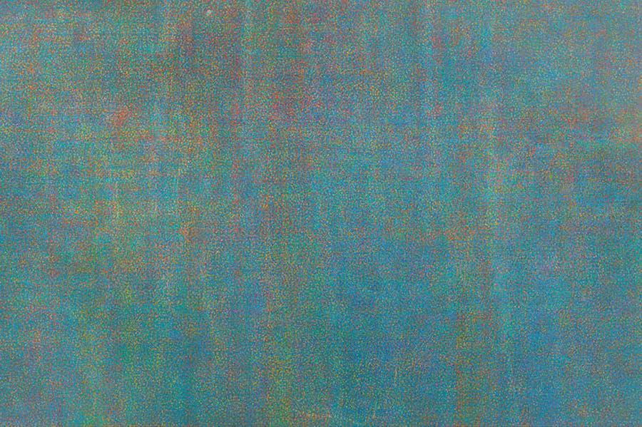 Untitled (1972), Howardena Pindell.