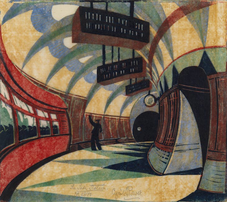 The Tube Station (c. 1932), Cyril Power.