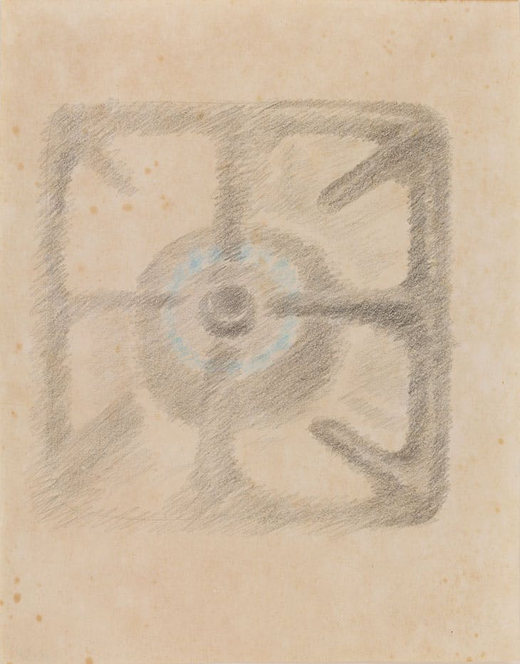 Untitled (c. 1938), Luchita Hurtado.