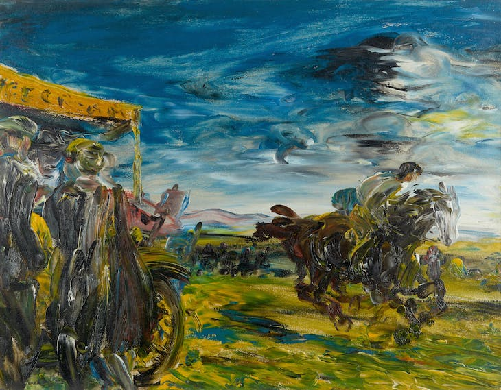 The Flapping Meeting (1926), Jack B. Yeats.