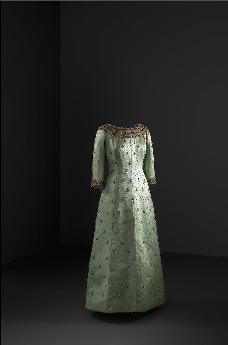 Evening gown (1963), Cristóbal Balenciaga.