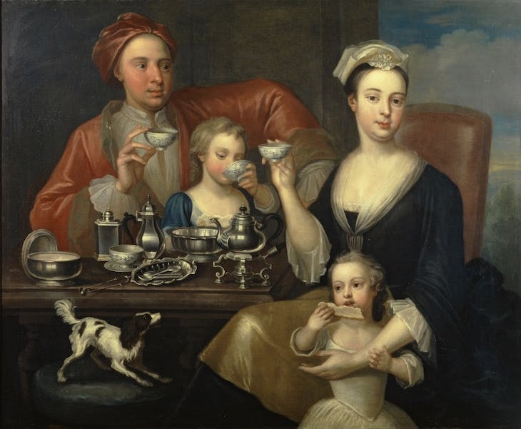 The Tea Party (1727), Richard Collins.