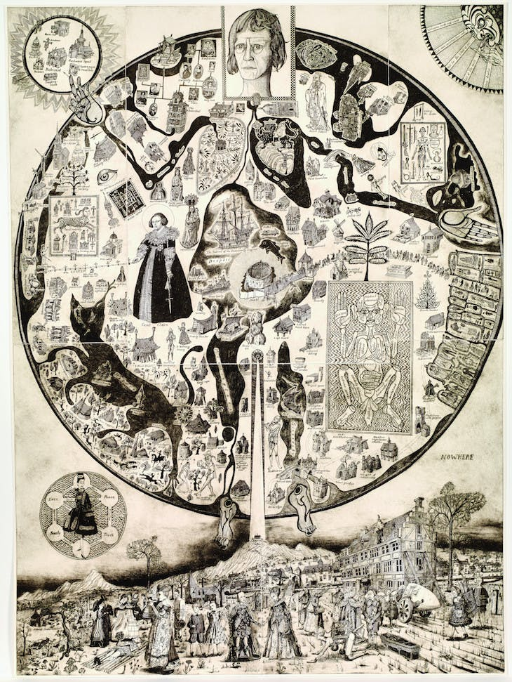 Map of Nowhere (2008), Grayson Perry.