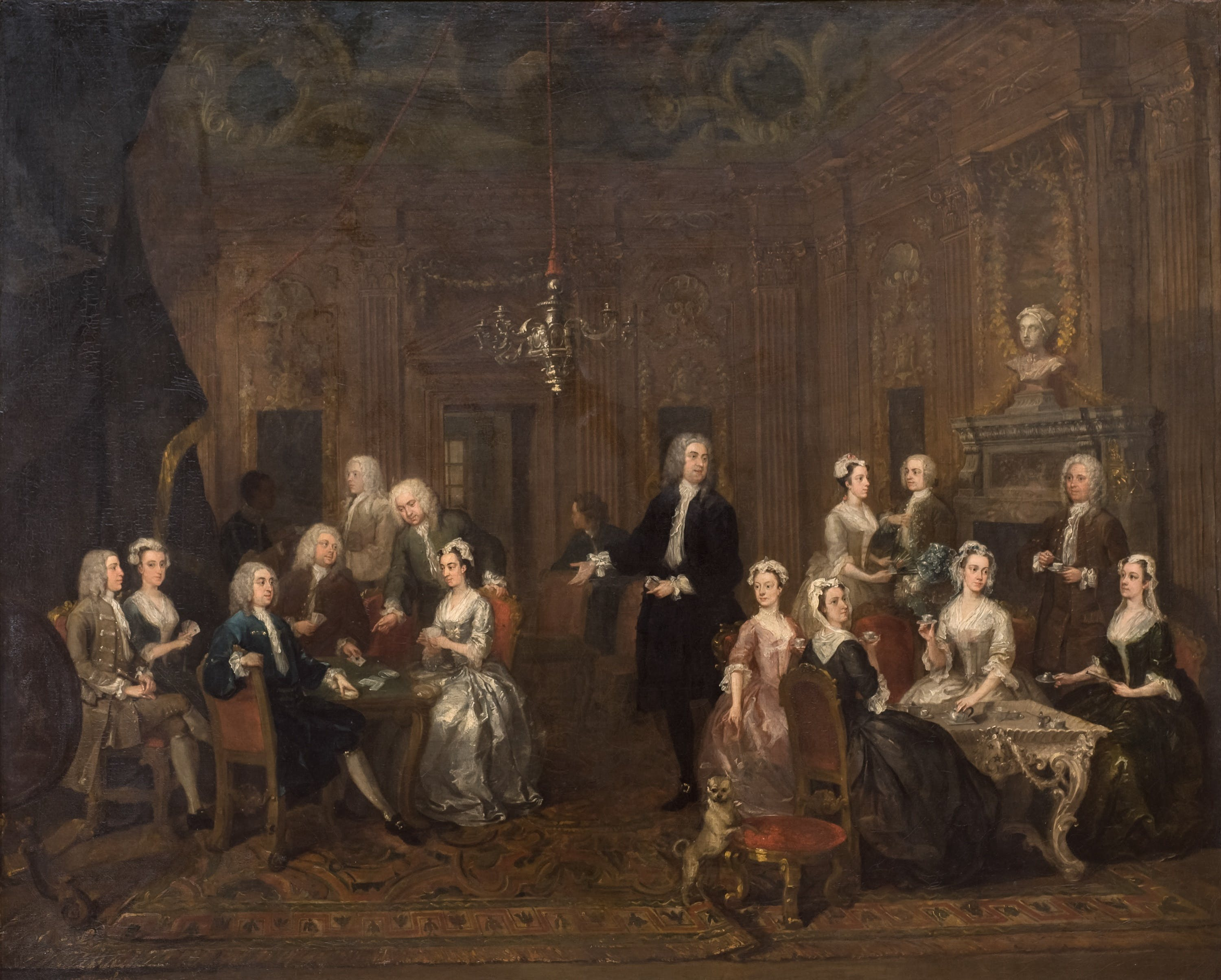 William Wollaston and his Family (1730), William Hogarth.