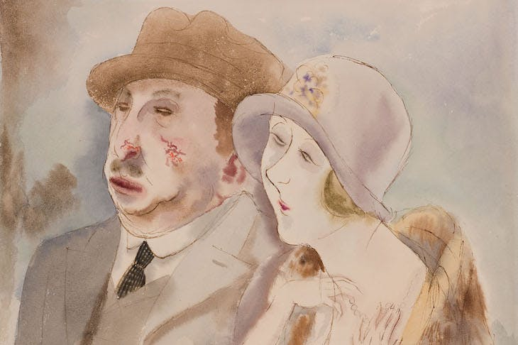 In Their Prime (c. 1923), George Grosz.