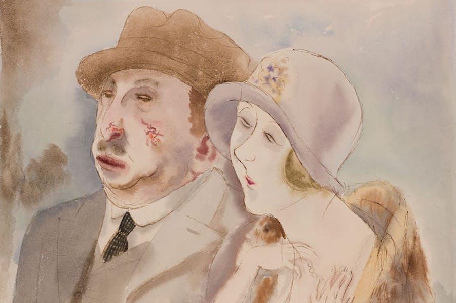 In Their Prime (c. 1923), George Grosz.